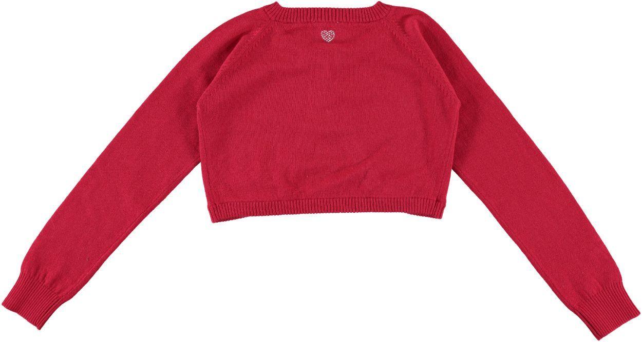 timeless design 43548 b2438 Coprispalle in tricot con applicazioni di strass per bambina da 6 a 16 anni  Sarabanda