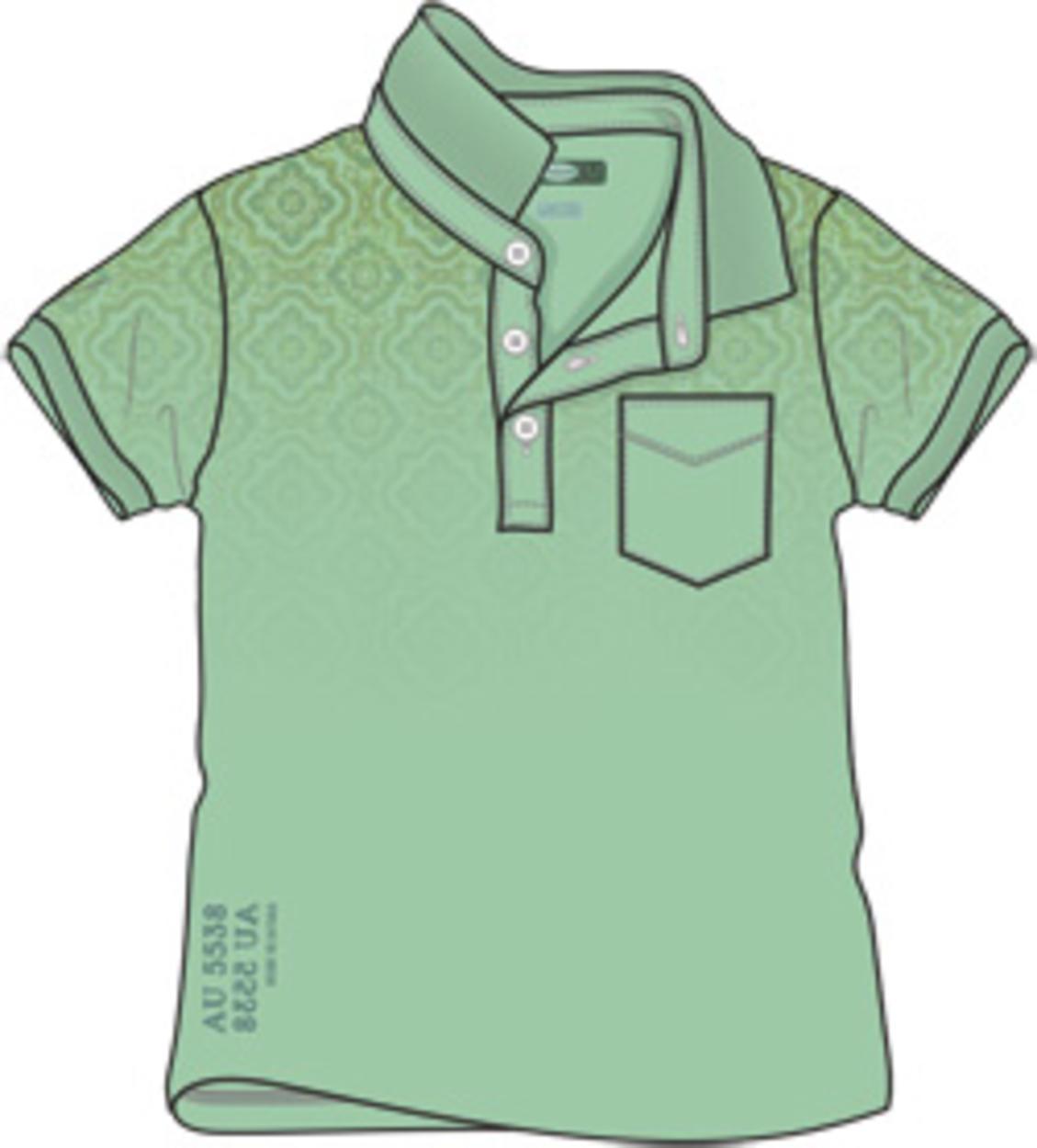 e0988cc193 Polo a manica corta 100% cotone stampa cachemire per bambino da 6 mesi a 7  anni Sarabanda