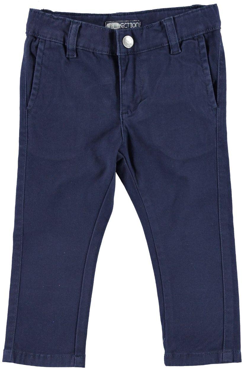 d44bb2aaa4c0ad Pantalone modello chinos per bambino in cotone elasticizzato da 6 mesi a 7  anni Sarabanda