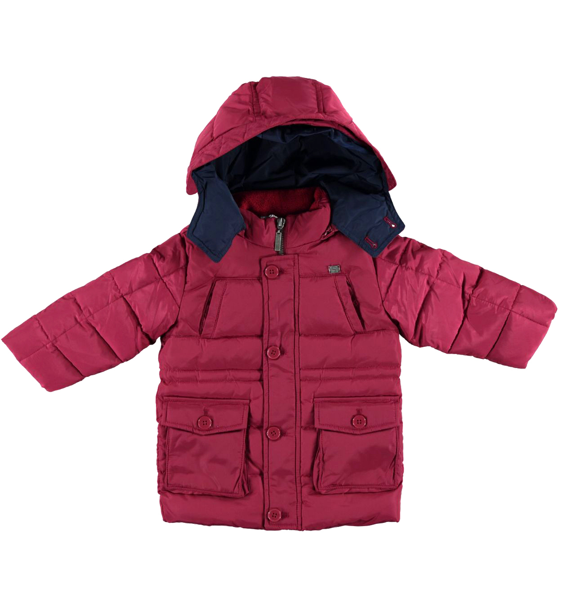 wholesale dealer 87c9b 2e658 Giubbotto invernale foderato in caldo pile per bambino da 6 mesi a 7 anni  Sarabanda
