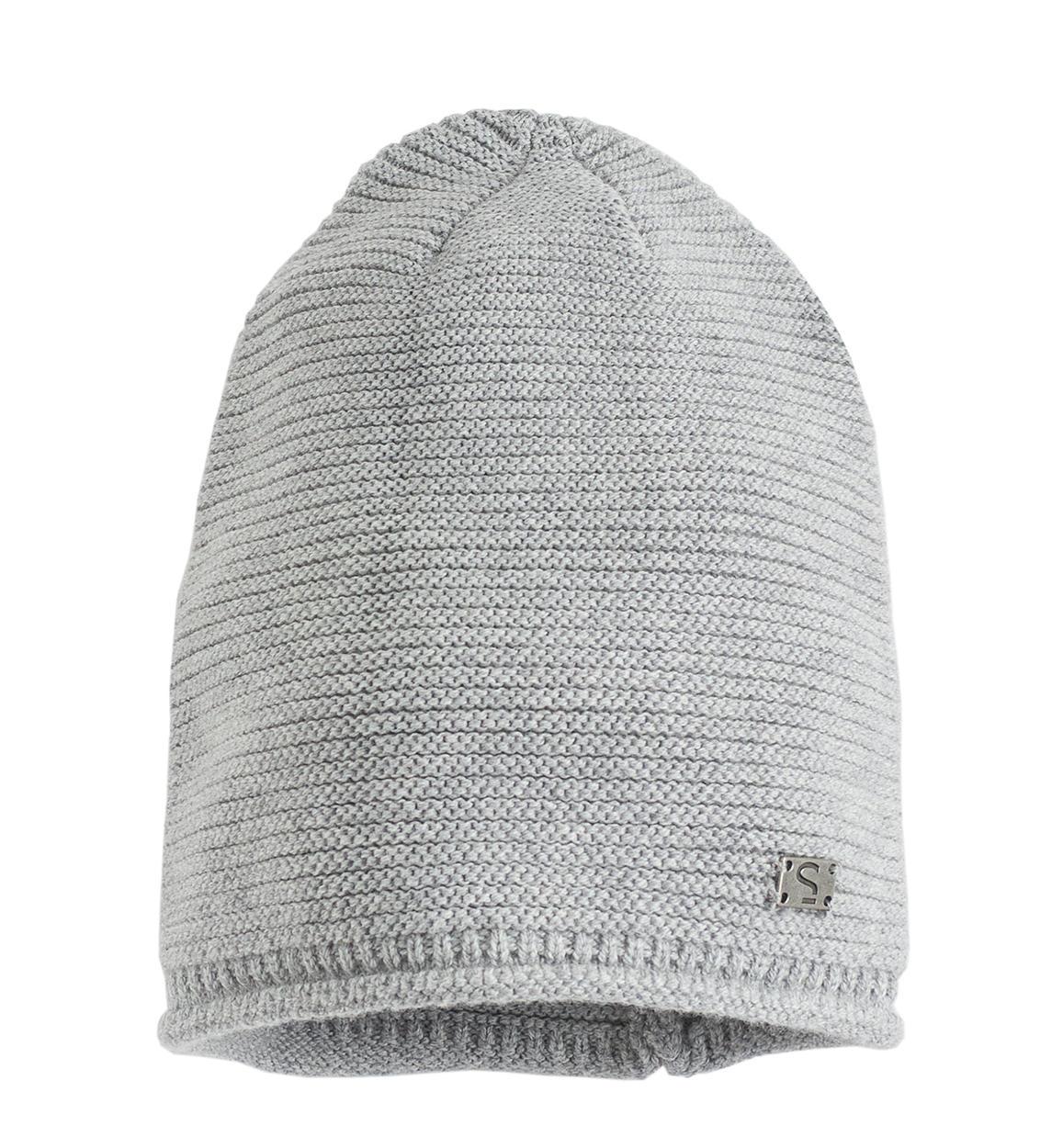 Cappello modello cuffia in tricot misto cotone lana per bambino da 6 ... 7146cadb8645