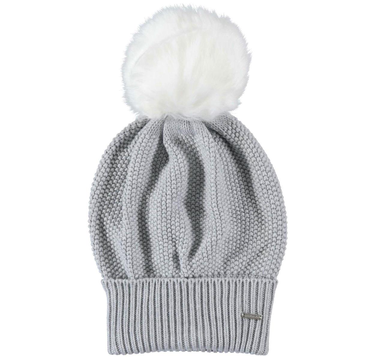 Cappello modello cuffia con pon pon per bambina da 6 a 16 anni Sarabanda 98b32235ce96