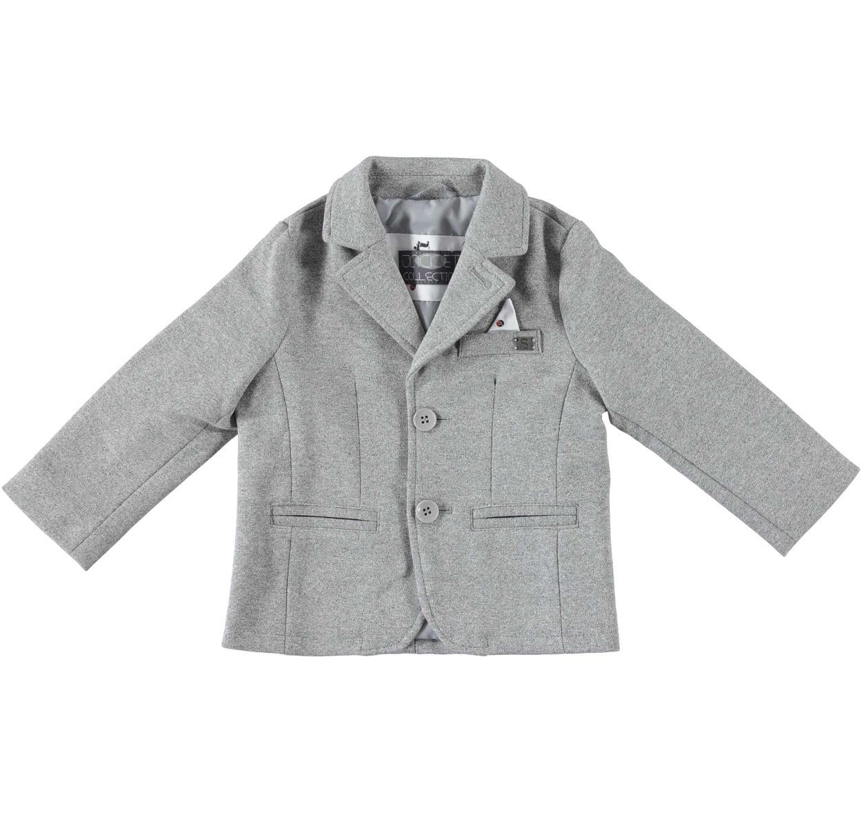 1daa92dd46db Giacca modello blazer in tessuto per bambino da 6 mesi a 7 anni Sarabanda