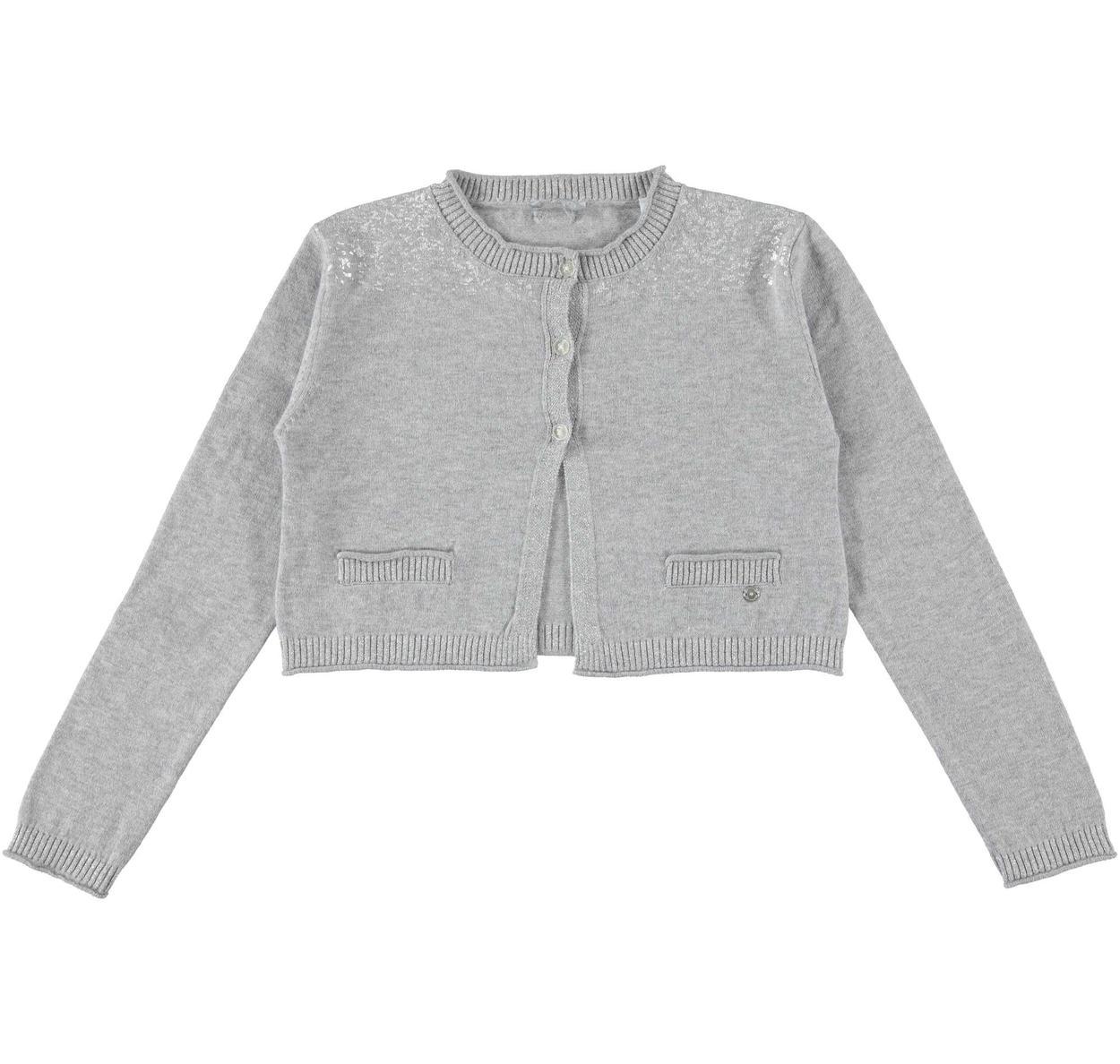 Cardigan corto in tricot effetto pelliccia per bambina da 6 a 16 anni  Sarabanda ce4ccc61540