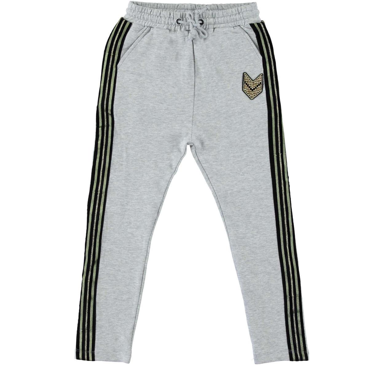 1ab440d06f11 Pantalone in felpa modello baggy fit per bambina da 6 a 16 anni Sarabanda