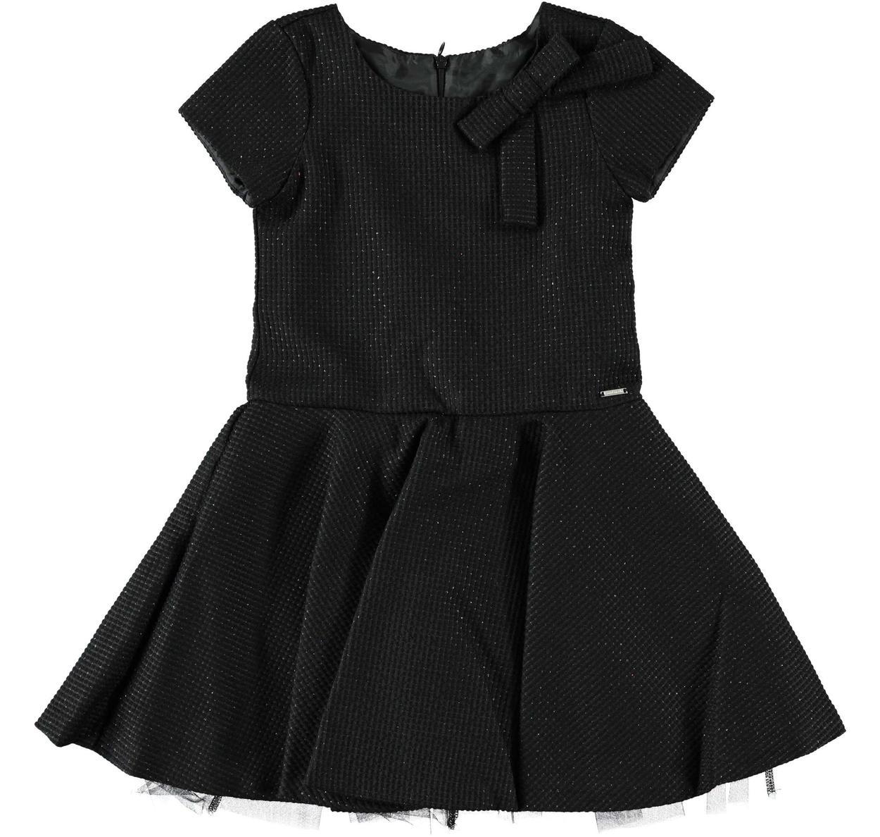 Vestito in elegante tessuto quadrettato con lurex per bambina da 6 a 16  anni Sarabanda 6e65d38660d