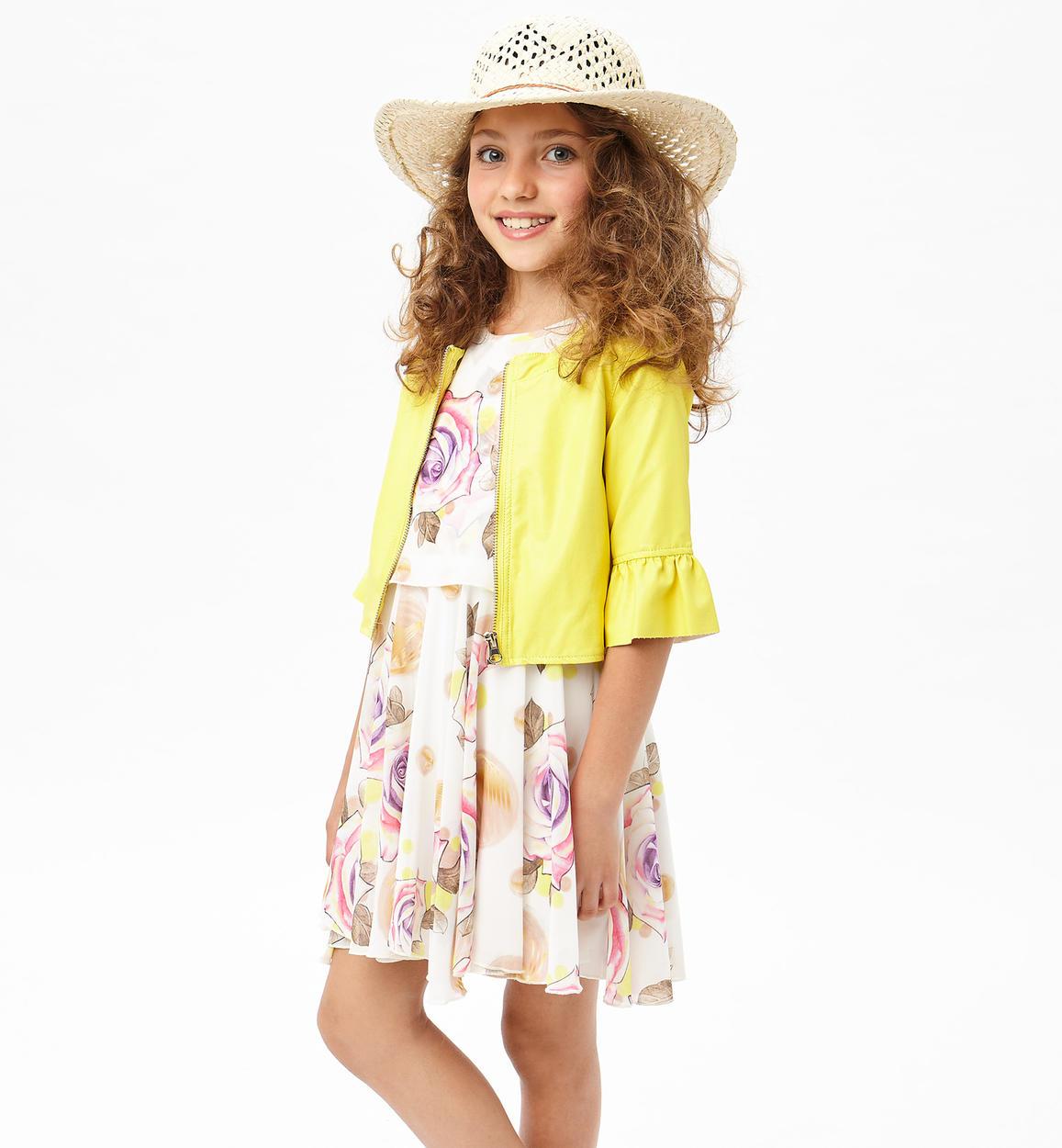 Vestiti Eleganti 16 Anni.Elegante Vestito In Chiffon Floreale Per Bambina Da 6 A 16 Anni