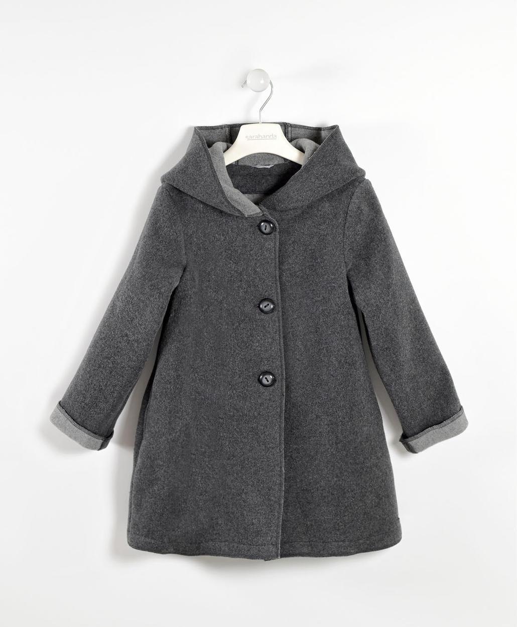 sports shoes 4c1a4 c1468 Morbido cappotto misto lana per bambina da 6 a 16 anni Sarabanda