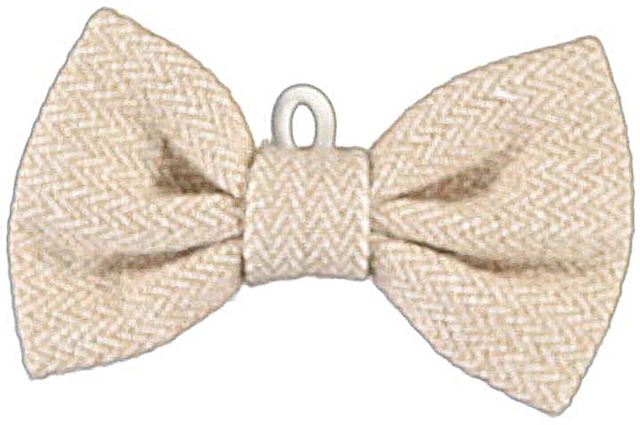 Papillon in tessuto spigatino per bambino da 0 a 18 mesi for Papillon bambino fai da te