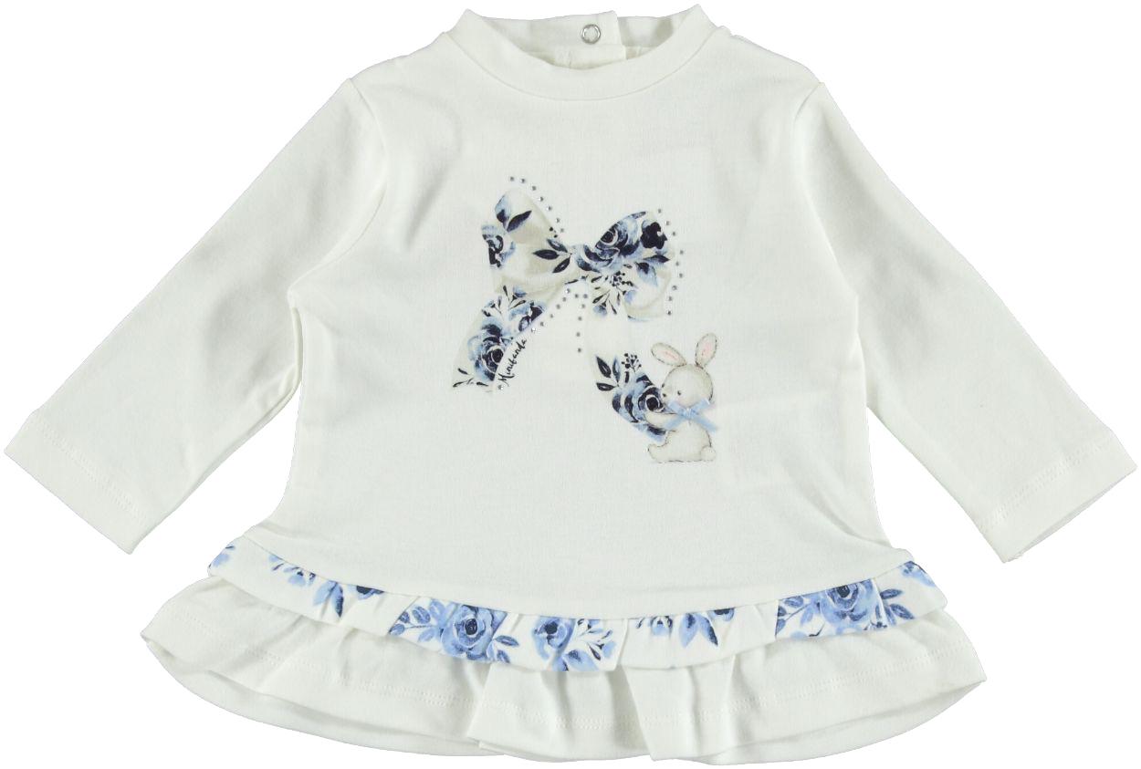 670fa1ed6d Maxi maglietta per neonata in caldo cotone al 100% da 0 a 24 mesi Minibanda