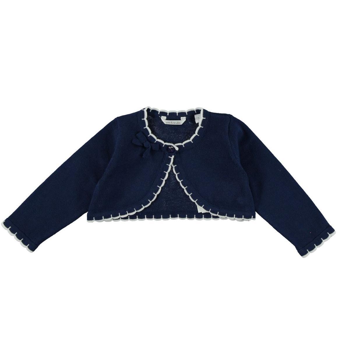 sports shoes a70cc 6ad04 Coprispalla in tricot 100% cotone per neonata da 0 a 24 mesi Minibanda