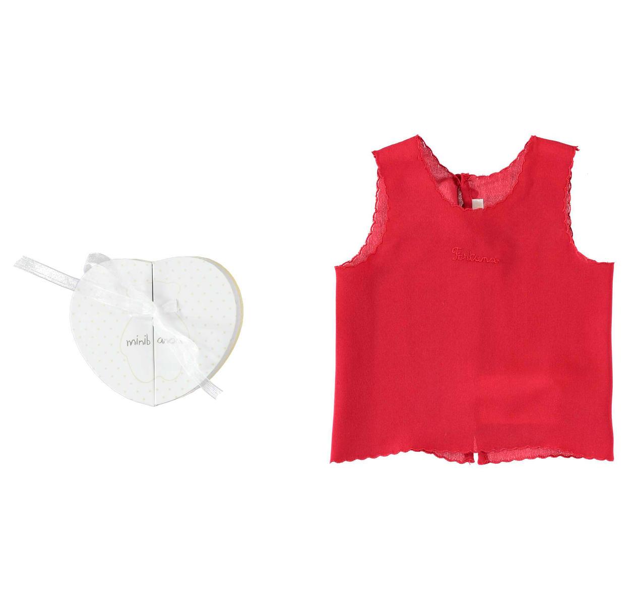 sale retailer 25ef2 0d8c2 Camicino della fortuna 100% seta per neonati da 0 a 24 mesi Minibanda