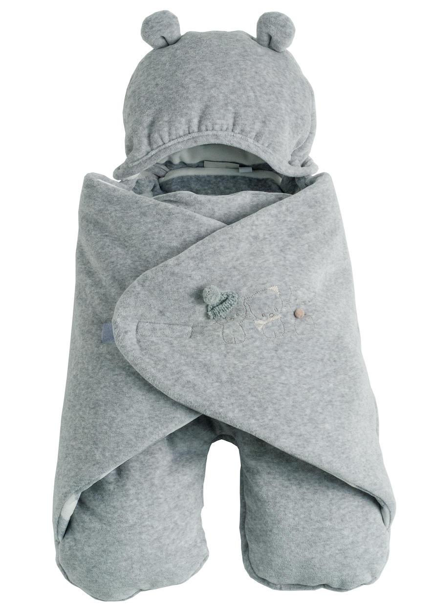 ultimo di vendita caldo qualità del marchio allacciarsi dentro Sacco in ciniglia per ovetto modello pipistrello per neonati da 0 a 24 mesi  Minibanda