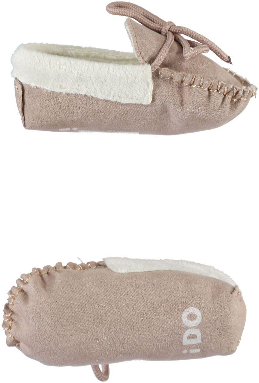 Scarpine neonato modello mocassino in alcantara per bambino da 0 a 18 mesi  iDO c5183809b47