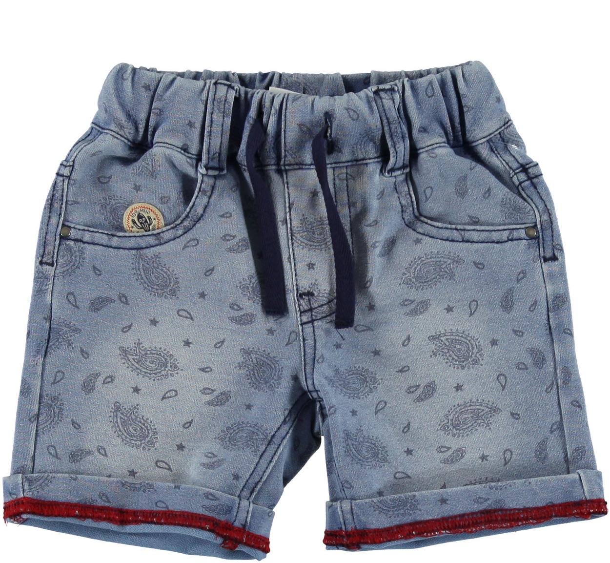 Pantaloncino corto con stampa fantasia cachemire per neonato da 0 a 18 mesi  iDO 2b656fe2aaf1
