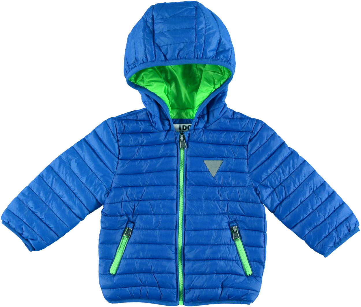 new style 3257a b2984 Piumino leggero bambino con trapunta orizzontale vestibilità da 6 a 36 mesi  iDO