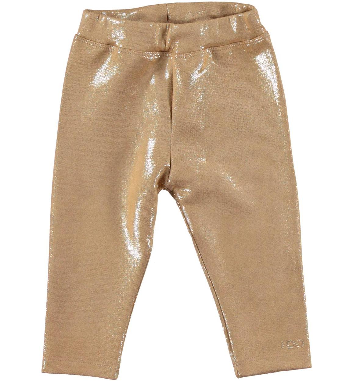 risparmi fantastici qualità eccellente top design Leggings in finta pelle scamosciata effetto lucido per bambina da ...