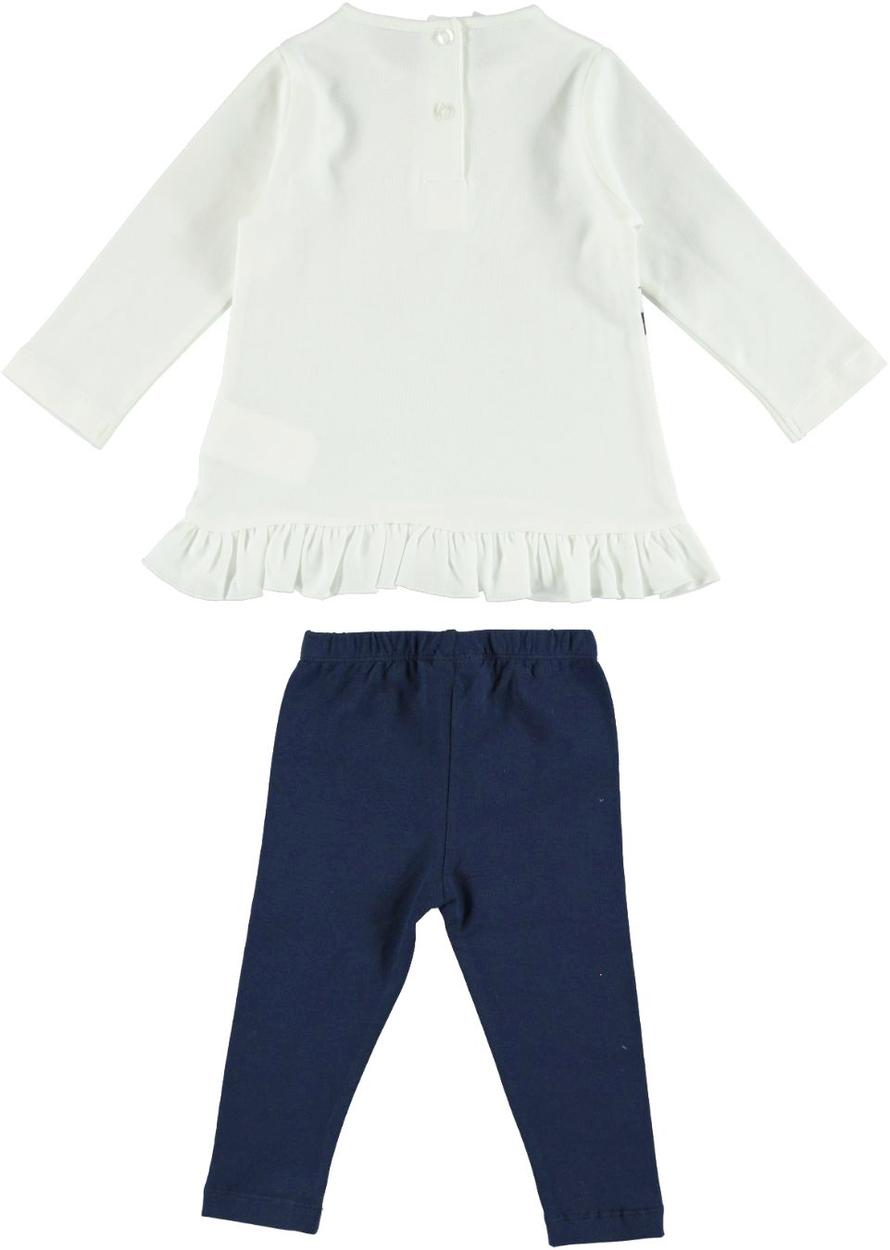 54a6cd919f Completo maxi maglia 100% cotone con cuccioli e leggings per bambina da 6 a  36 mesi iDO. GRIGIO-ROSSO-8016. GRIGIO-ROSSO-8016_back. PANNA-BLU-8132_back.
