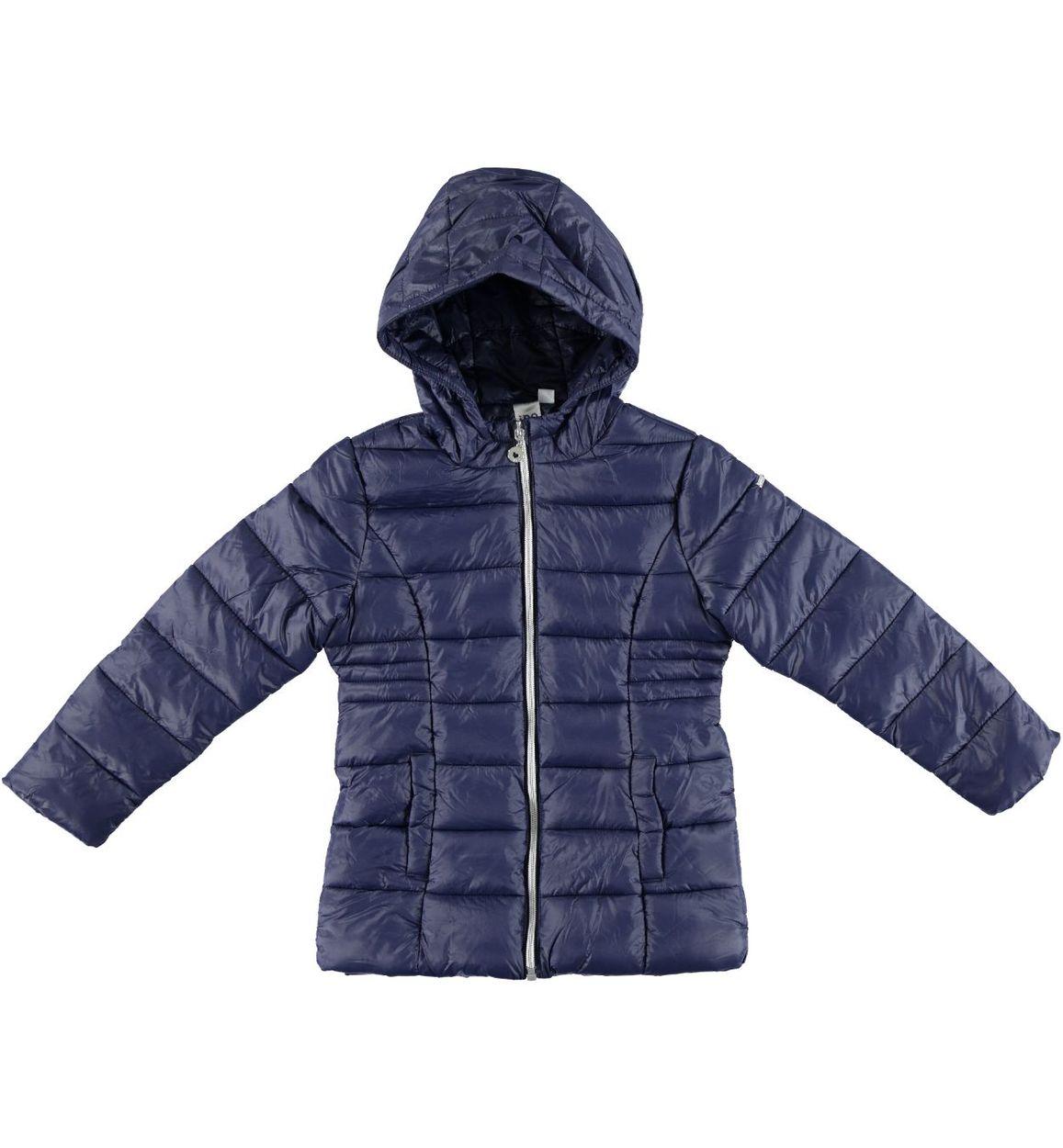 buy online f4934 f8ed8 Piumino invernale avvitato in nylon per bambina da 3 a 16 anni iDO