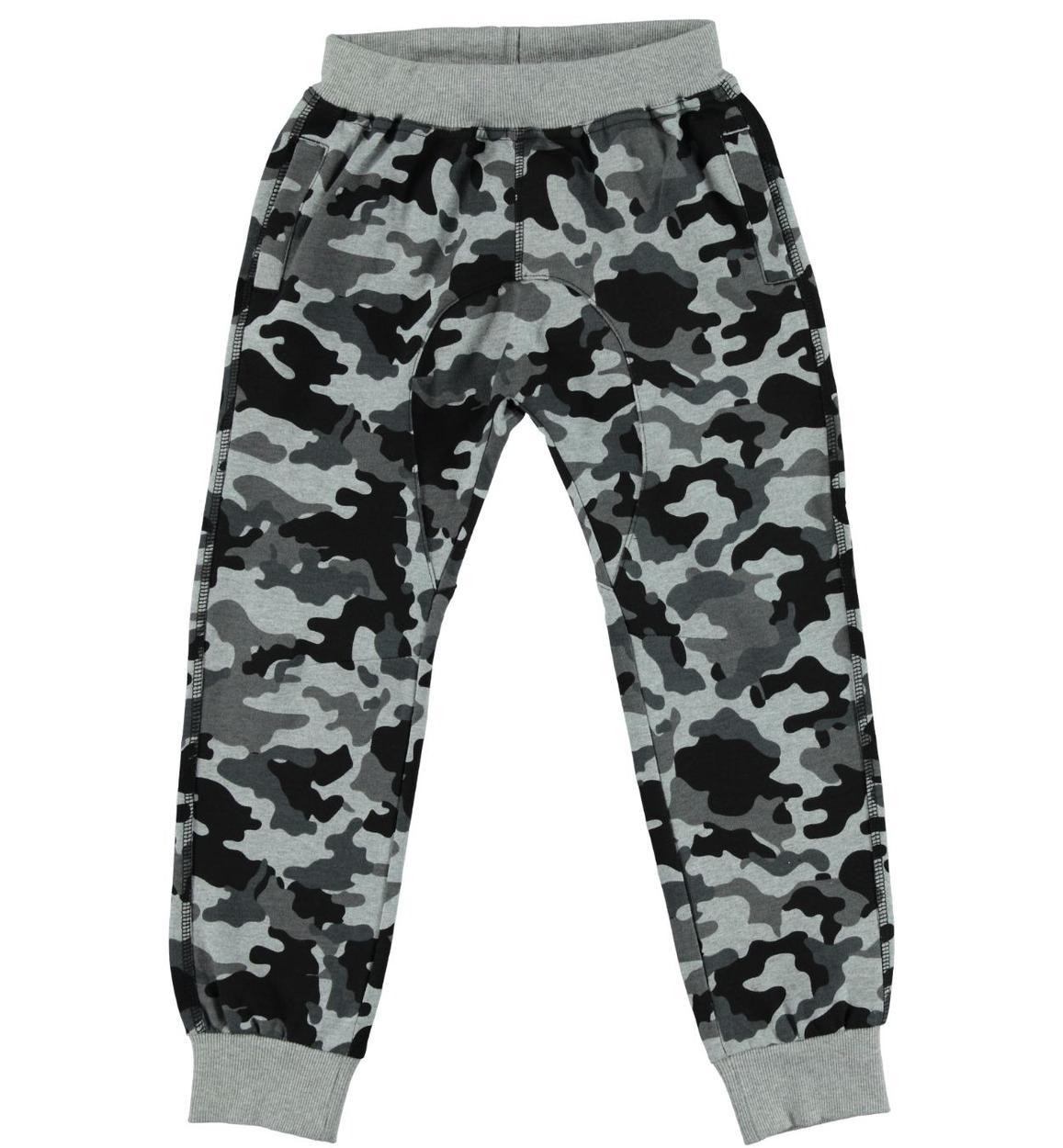 Pantalone baggy fit con stampa mimetica per bambino da 3 a 16 anni ... fce7cf699f3a