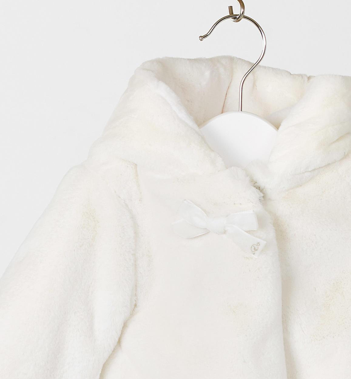 release date: 1a9b0 e14ab Elegante e morbido pellicciotto ecologico per neonata da 0 a 18 mesi iDO
