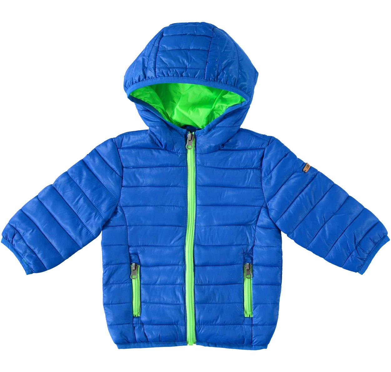 super popular bcfd4 b7e22 Pratico piumino 100 grammi in nylon finitura cerata per bambino da 6 a 36  mesi iDO