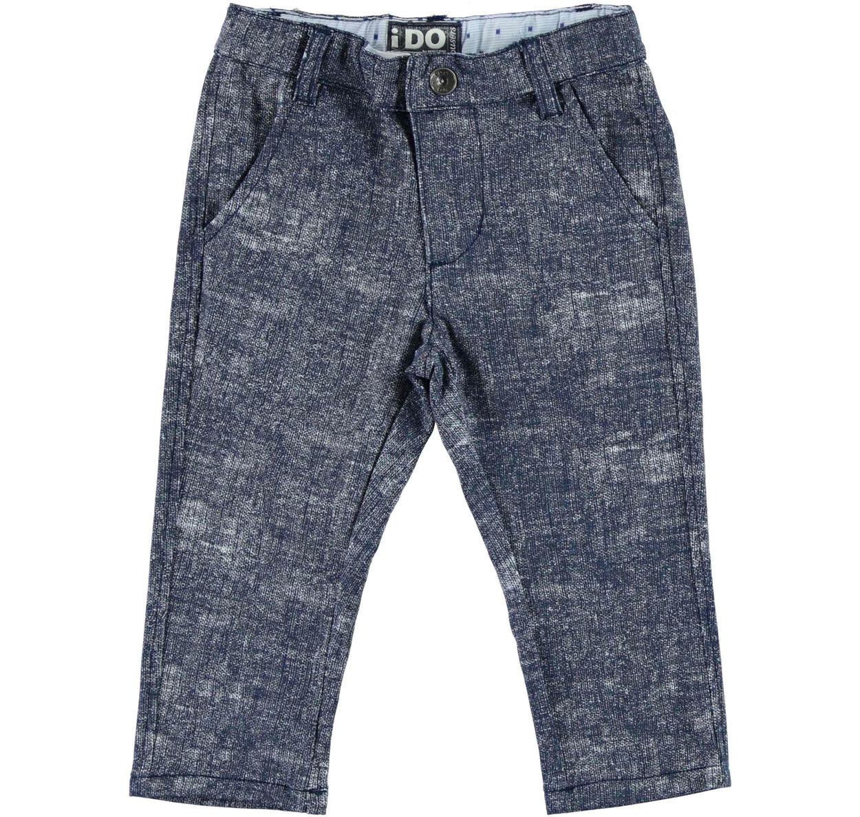 59d219bcc0a17d ... per bambino da 6 mesi a 7 anni iDO. Pantalone in felpa stretch effetto  melange ido BIANCO-BEIGE-6AR5; Pantalone in felpa stretch effetto melange  ido ...