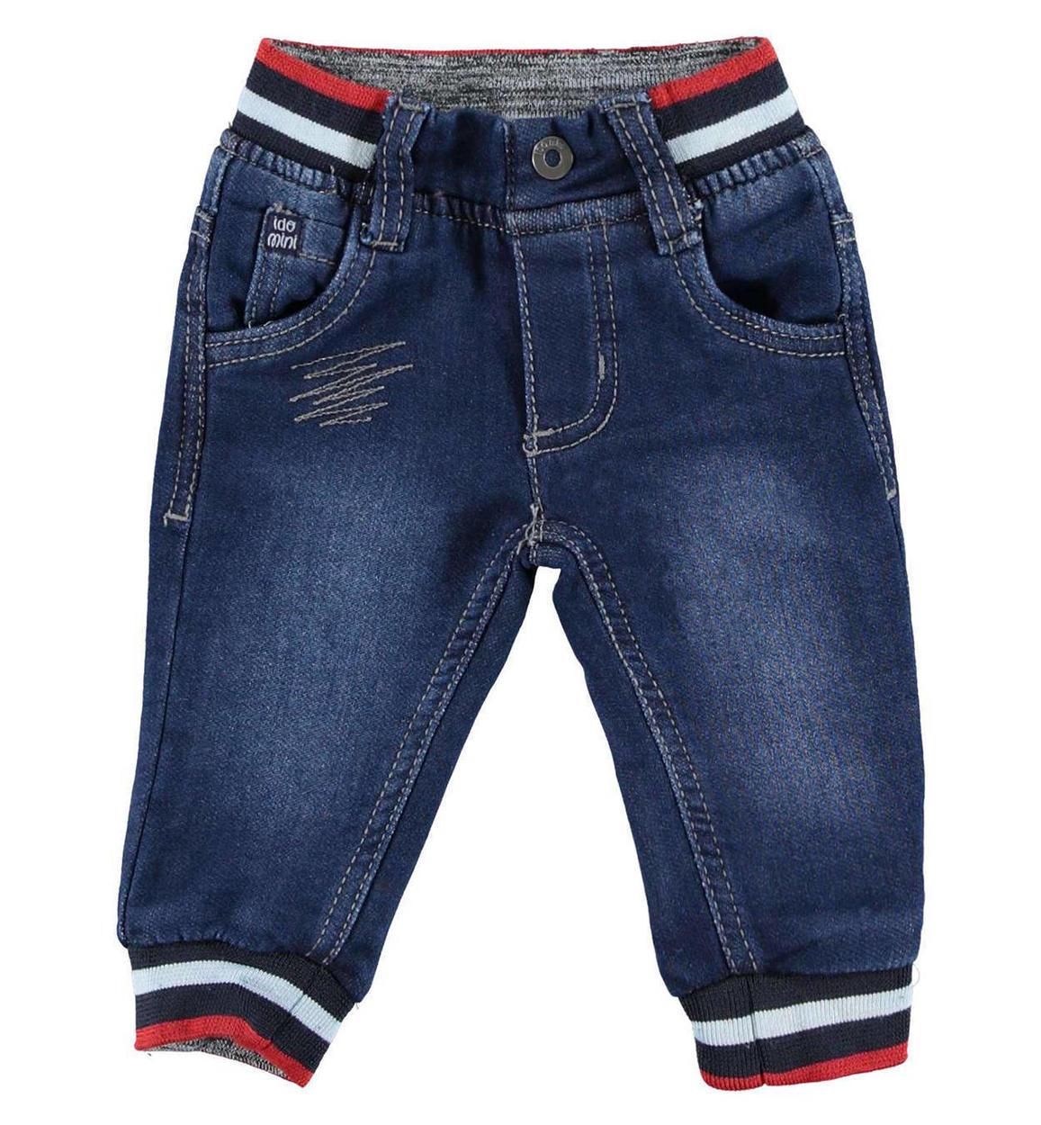 prezzo ragionevole scarpe di separazione vendita calda online Pantalone in felpa denim per neonato da 0 a 18 mesi iDO