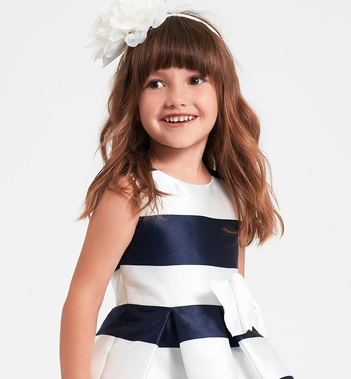 Abiti Eleganti Bambina 7 Anni.Raffinato Ed Elegante Abito Con Fiocco Per Bambina Da 6 Mesi A 7