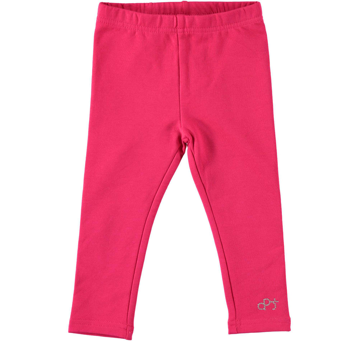 Leggings in felpa stretch con logo per bambina da 6 a 30 mesi Dodipetto