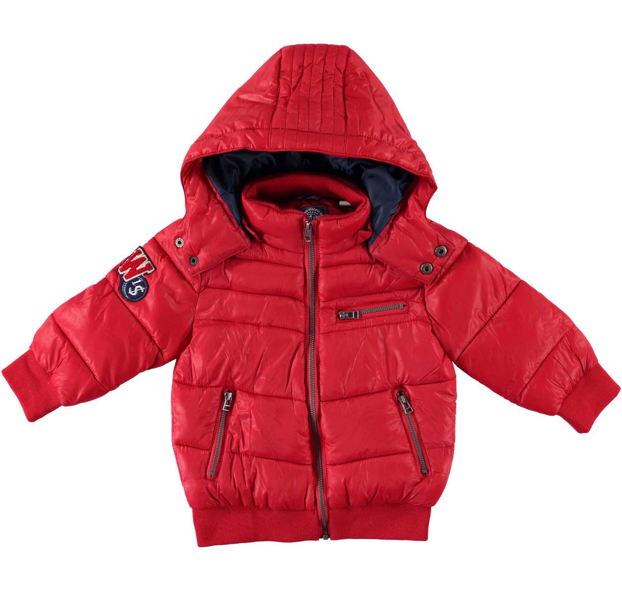 info for 288a3 ccf27 Piumino invernale imbottitura ovatta con cappuccio staccabile per bambino  da 6 mesi a 7 anni Sarabanda
