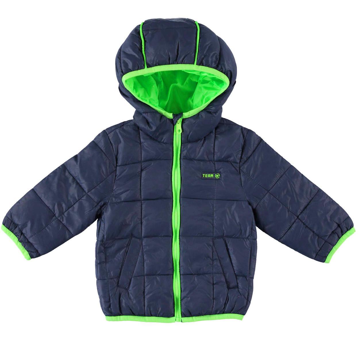 new styles add9a 137c3 Piumino modello 100 grammi con cappuccio in nylon ed imbottitura in ovatta  per bambino da 6 mesi a 7 anni Sarabanda