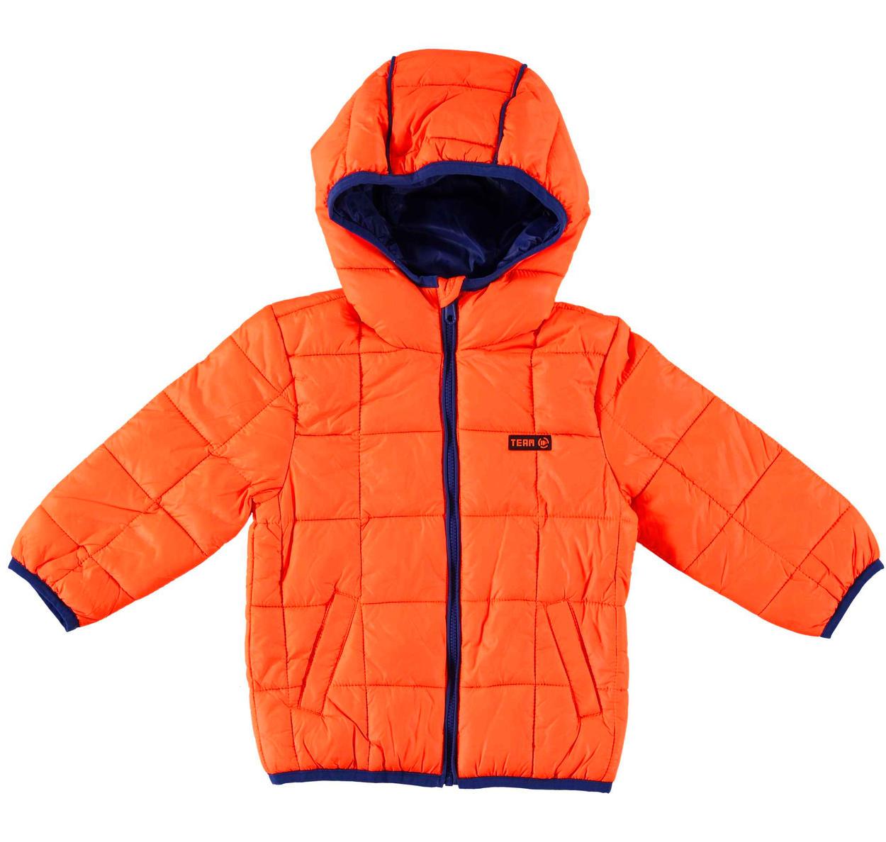new styles d9182 d129c Piumino modello 100 grammi con cappuccio in nylon ed imbottitura in ovatta  per bambino da 6 mesi a 7 anni Sarabanda