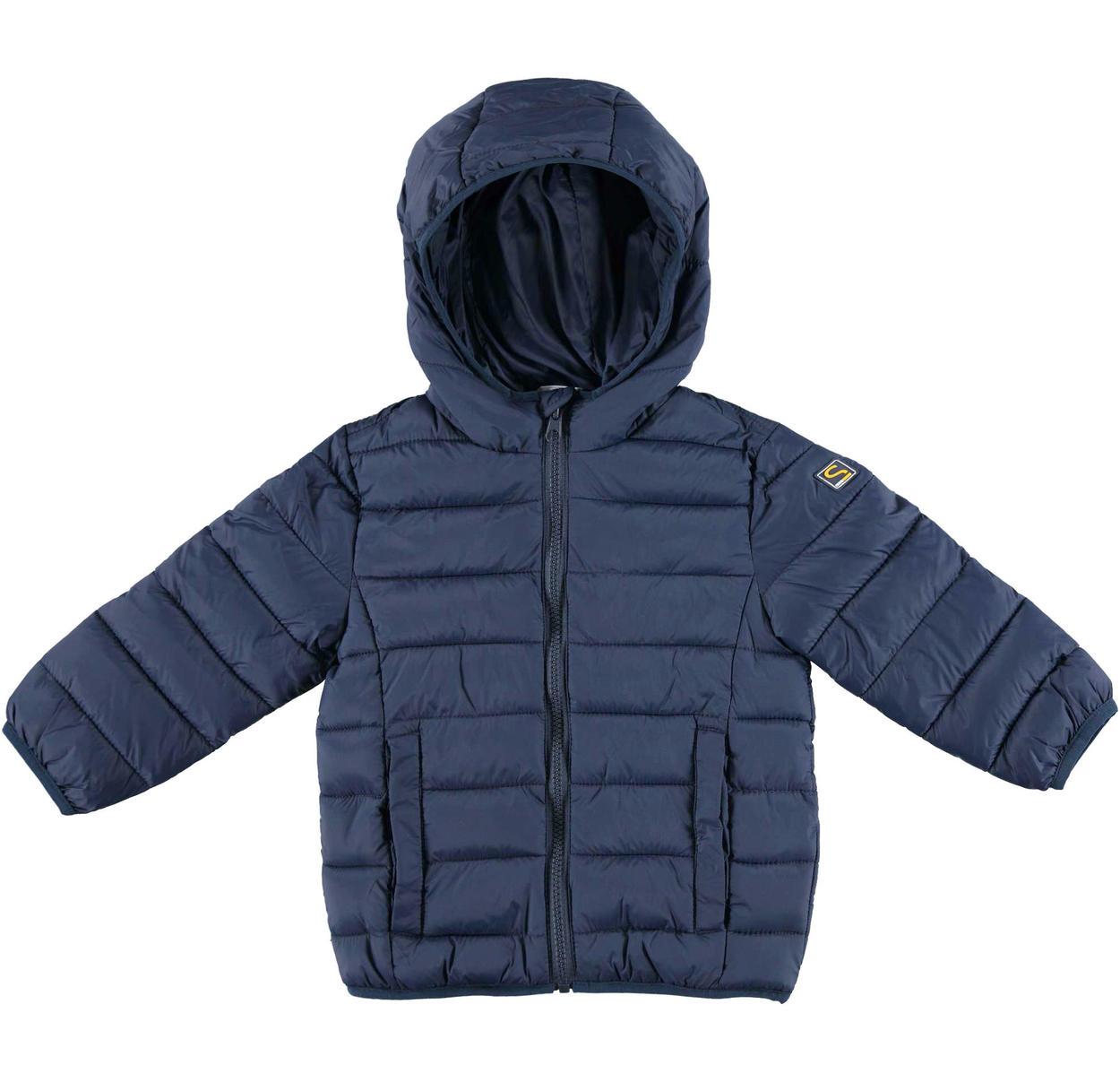 purchase cheap 1eb0f e9fdc Piumino modello 100 grammi in ovatta con cappuccio per bambino da 6 mesi a  7 anni Sarabanda
