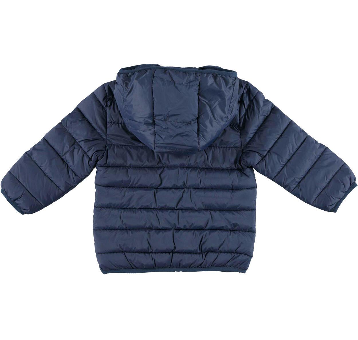 Piumino modello 100 grammi in ovatta con cappuccio per bambino da 6 mesi a 7 anni Sarabanda