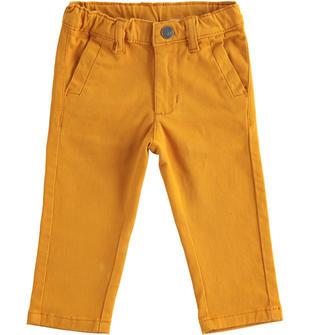Pantalone classico in twill elasticizzato sarabanda OCRA-1655