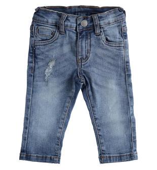 Pantalone in denim stretch per il tempo libero sarabanda STONE WASHED-7450