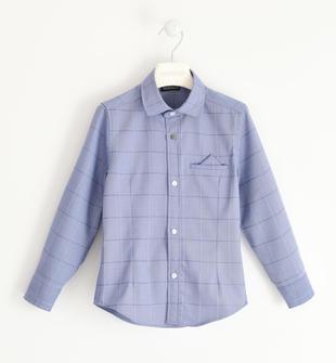 Camicia in particolare tessuto stretch con pochette sarabanda AVION-3621
