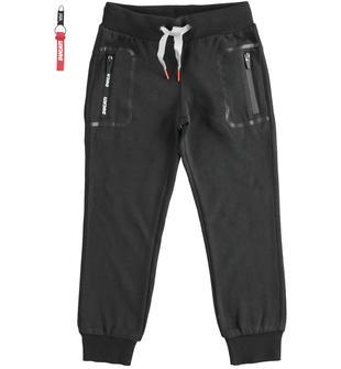 Pantalone con stampa tasca
