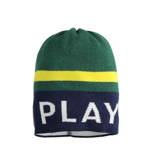 Cappello modello cuffia con scritta