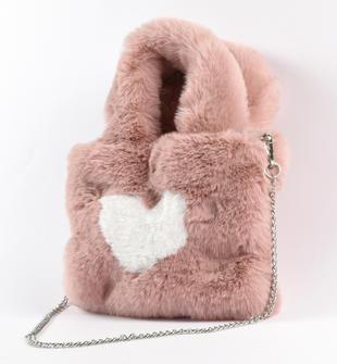Graziosa borsa con cuore sarabanda ROSA-3031