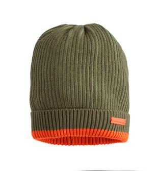 Cappello modello cuffia sarabanda VERDE MILITARE-5557