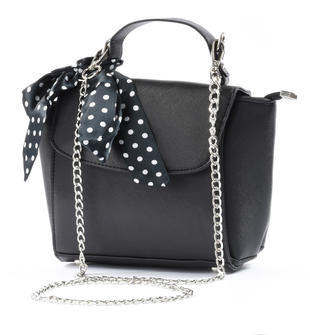 Elegante borsa per bambina sarabanda NERO-0658