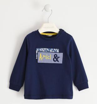 """Maglietta girocollo 100% cotone """"Amici &"""" sarabanda"""