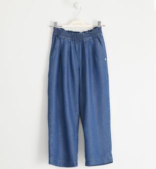 Particolare pantalone in lyocell sarabanda STONE WASHED-7450