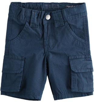 Pantalone corto modello cargo sarabanda NAVY-3854