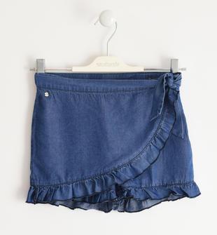Pantalone corto modello pareo sarabanda STONE WASHED-7450