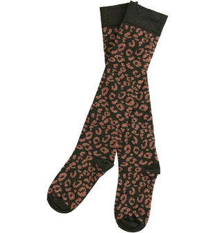 Collant fantasia animalier sarabanda NERO-0658