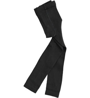 Panta collant in cotone sarabanda NERO-0658
