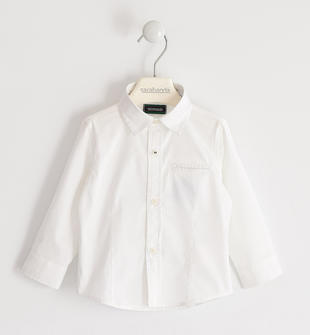 Camicia classica sarabanda BIANCO-0113